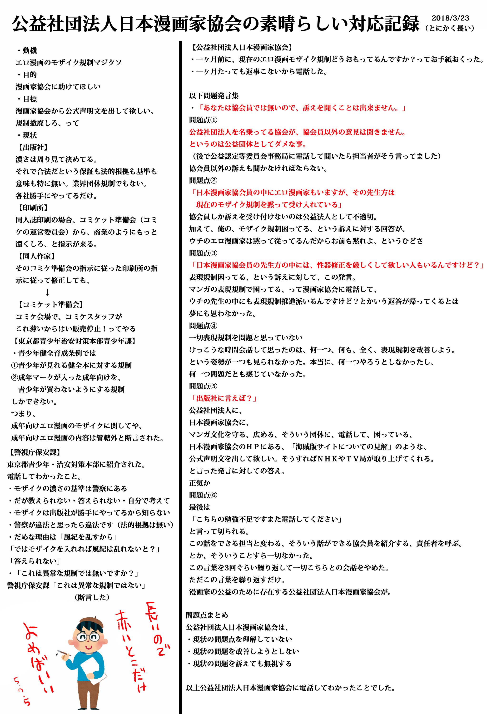 2018/01/01~05/23までの活動ま...